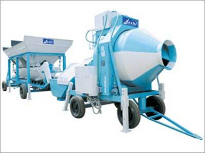Bin Feeder with Reversible Drum Mixer