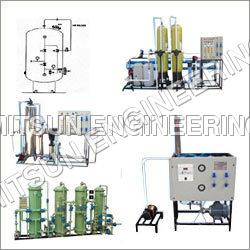 Manual Water Treatment Plants