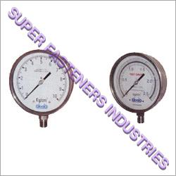 Bourdon Pressure Gauges
