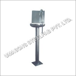 S.S Washbasin With Pillar