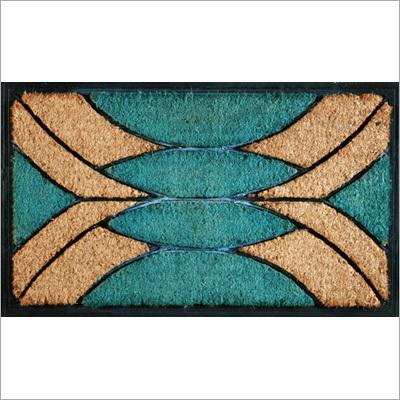 Designer Rubber Moulded Coir Mat