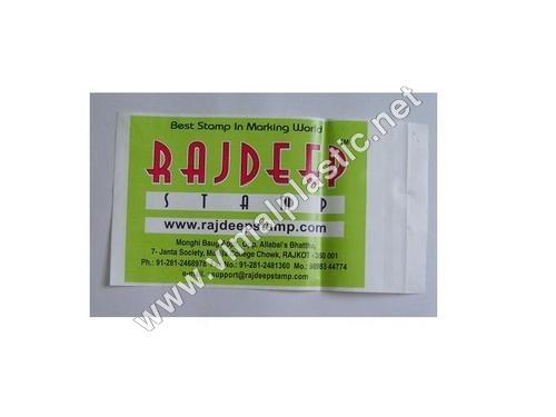 Printed Plastic Envelope