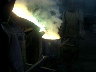 Brass Melting In Induction Melting Furnace
