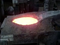 Brass Melting Induction Furnace
