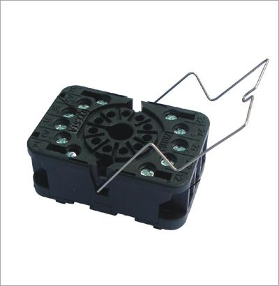 Din Rail Mountable Relay Socket