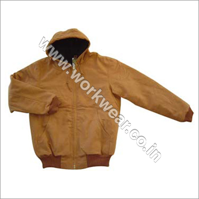 Hooded Safety Jacket