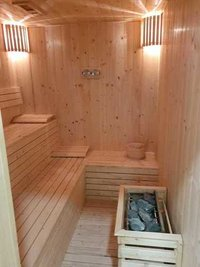 Designer Sauna Bath Room