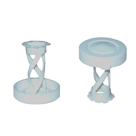 Plastic Flower Cap