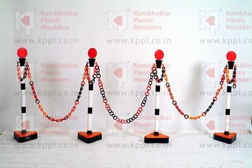 Plastic Chain Stand Poles