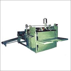 Corrugated Carton Folding And Gluing Machine