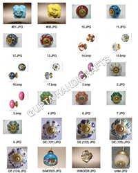Ceramic Painted Knobs