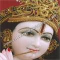 Decorative Marble Krishna Statue