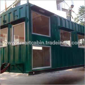 Mild Steel Mobile Retail Cabin