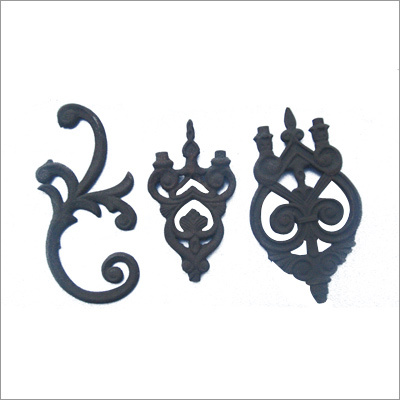 Cast Iron Window Grill