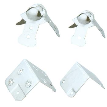 Chrome Speaker Accessories