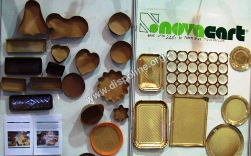 Paper Baking Moulds And Tray