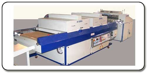 Roller Coater & UV Curing Machine