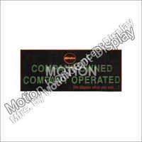 LED Petrol Pump Sign Board