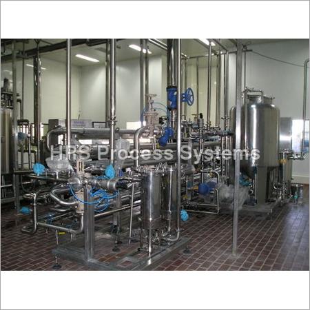 Heat Exchanger Processing Juice
