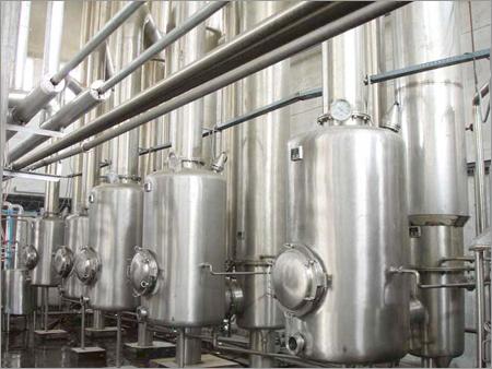 Evaporator for Milk Processing
