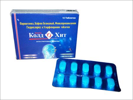 Anti Cold Tablets - GOD GIFT LABORATORY PVT  LTD , 205, HSIIDC