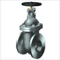 Cast Iron Non Rising Gate Valve Flange Ends