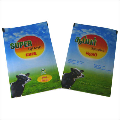 Vanaspati Pouch Packing