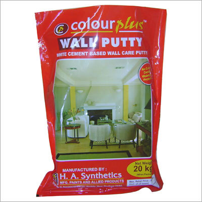 Wall Putty Powder Bags