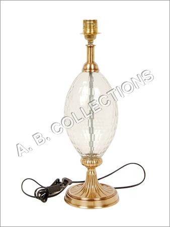 ROUND BASE GLASS LAMP