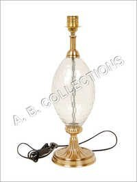 ROUND BASE GLASS LAMP