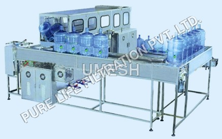 Automatic 20 Jar Rinsing Filling & Capping Machine