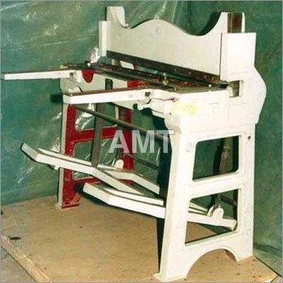 Foot Operated Shearing Machine