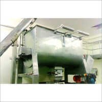Ribbon Mixer With Conveyor