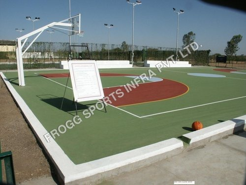 Synthetic Basketball Courts