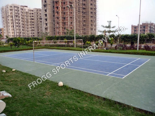 Synthetic Badminton Courts