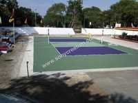 Synthetic Volleyball Courts
