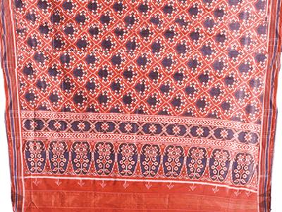 Red Patola Silk Saree