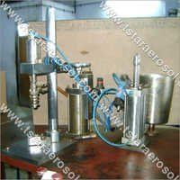 Aerosol Liquid Filling Machine
