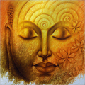 Divine Light Lord Buddha (SOLD)