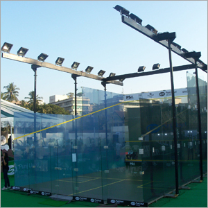 Squash Glass Courts
