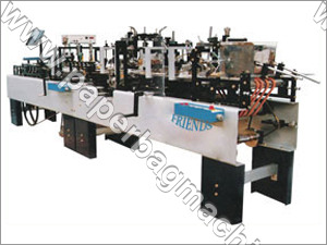 Automatic Folding Carton Box Gluing Machine