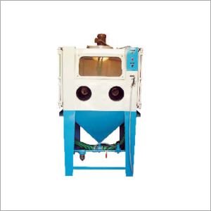 Cabinet Suction Blasting Machine