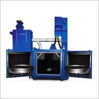 Swing Table Blasting Machine