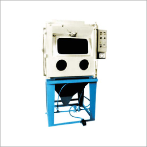 Cabinet Wet Blasting Machine