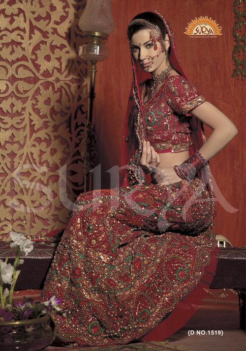 Antique Bridal Lehenga