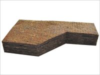 Brown Non Moldable Resinated Felt
