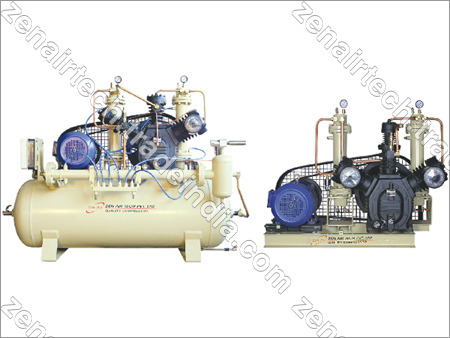High Pressure Air Compressors [Water Cooled - Inter Cooling Systems]