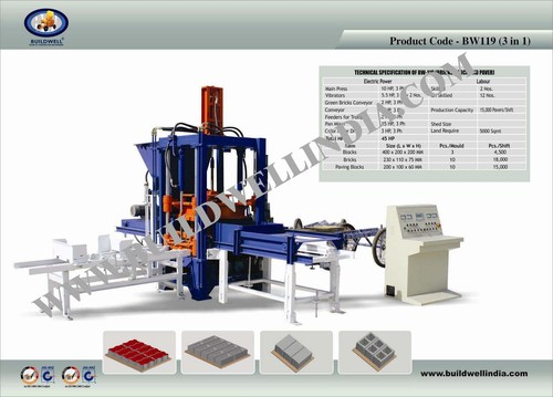 Automatic Paver Making Machine
