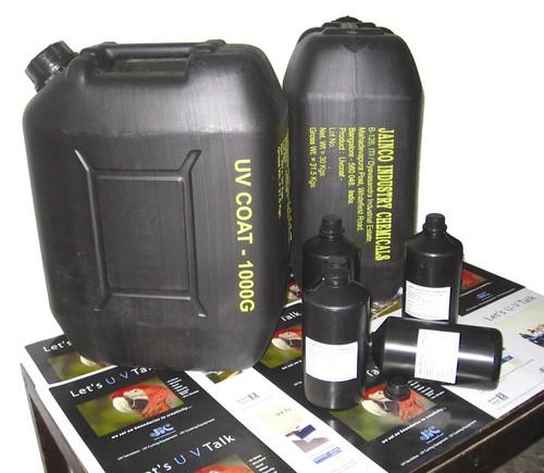 Flexo UV coating