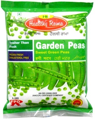 Printed Peas Packaging
